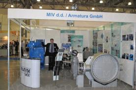 3э эксцентриковый дисковый затвор типа V3-06-3E Ду1000 Ру25 под приварку с приводом AUMA