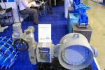 3х эксцентриковый дисковый затвор типа V3-06-3E Ду500 Ру25 под приварку с приводом AUMA